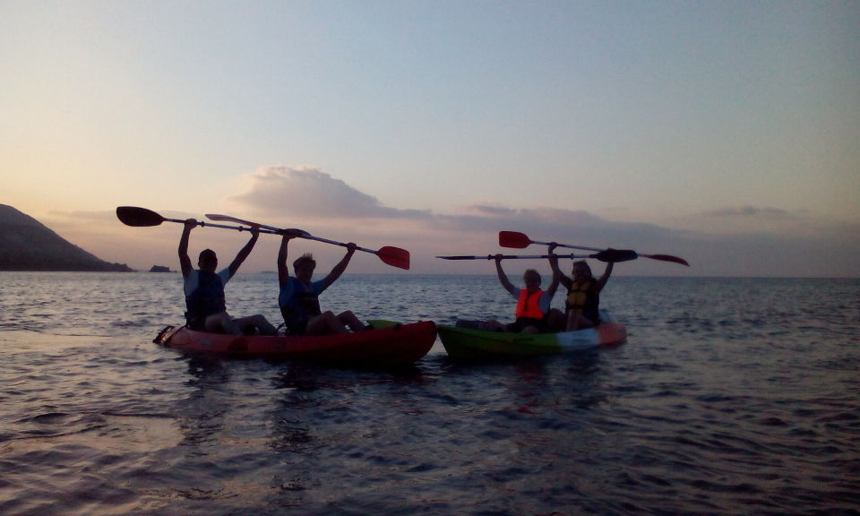 Latchi half day kayak tour